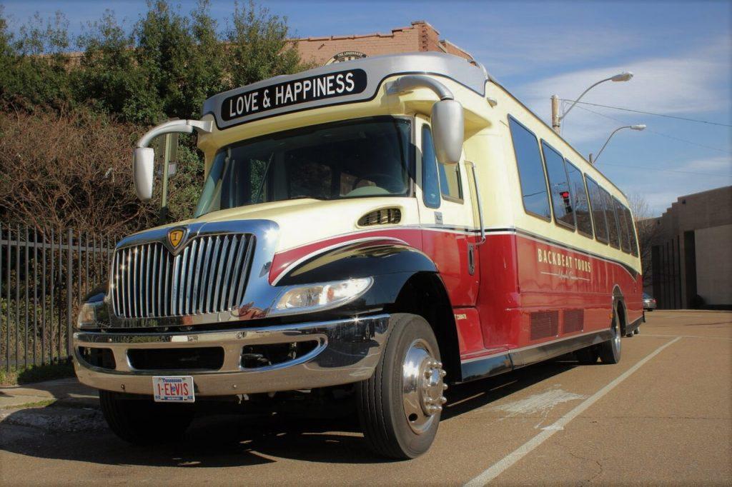 Backbeat tour bus